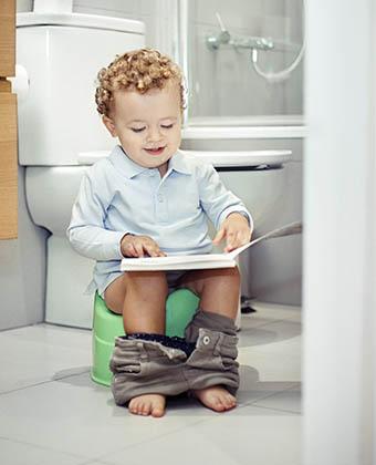 Apprendre la propreté aux tout-petits : un jeu d'enfants !