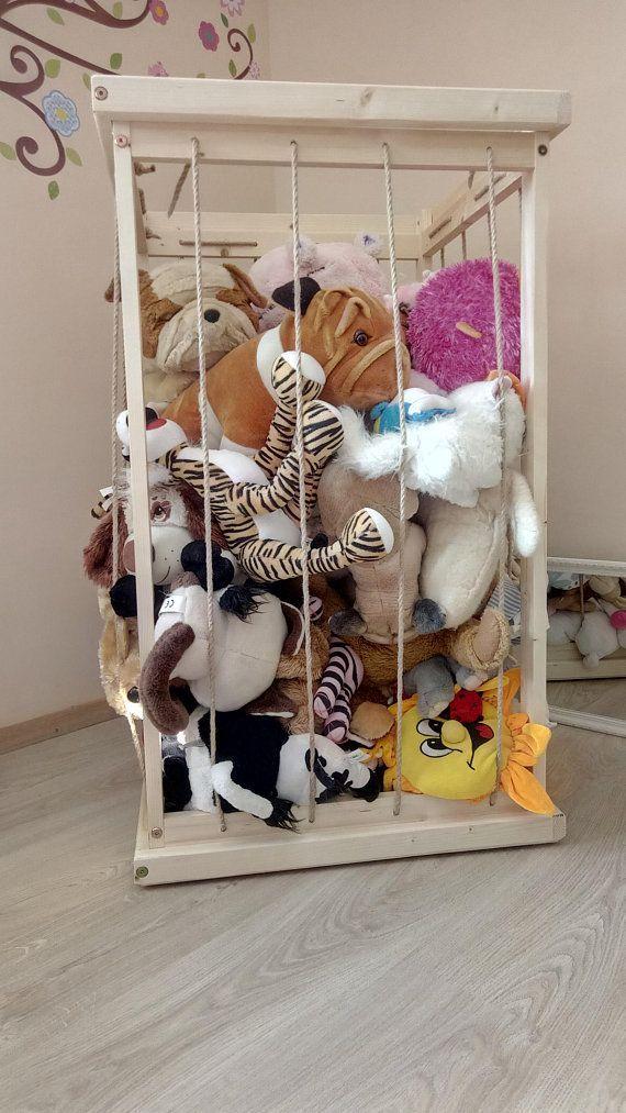 rangement peluches - boîte zoo