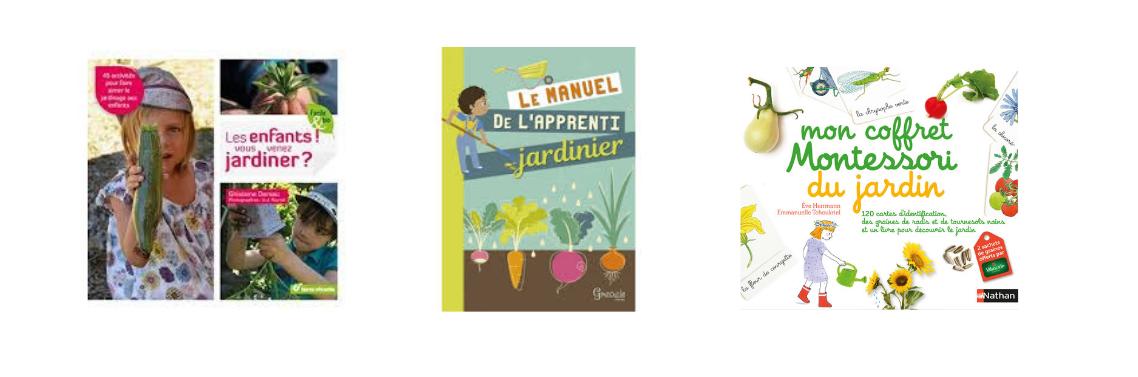Livres jardinage enfant
