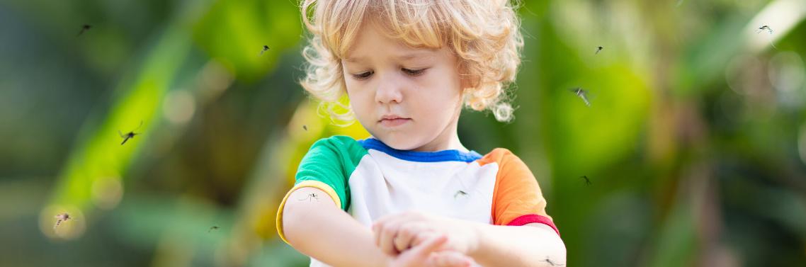 comment protéger les bébés des piqûres de moustiques