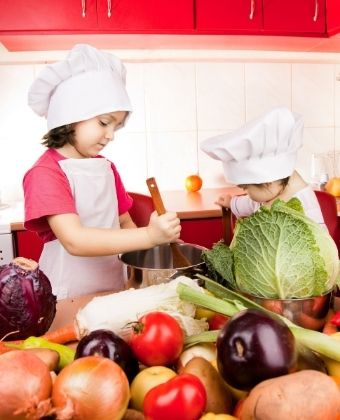légumes enfants